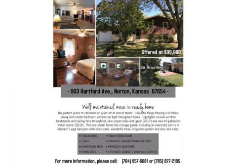 Well Maintained & Move In Ready House