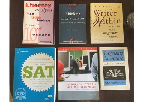 Books for the student– set of 6