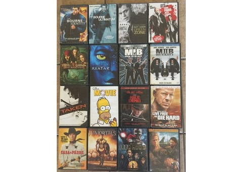 Movies – set of 16 DVDs