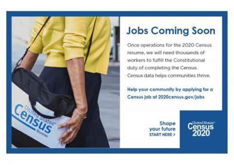 Jobs Coming Soon